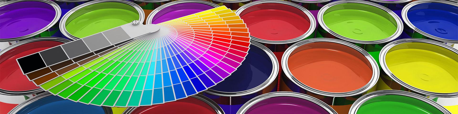 RAL-Karten & Farbdosen